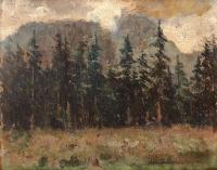 Widok na góry, 1923 r.