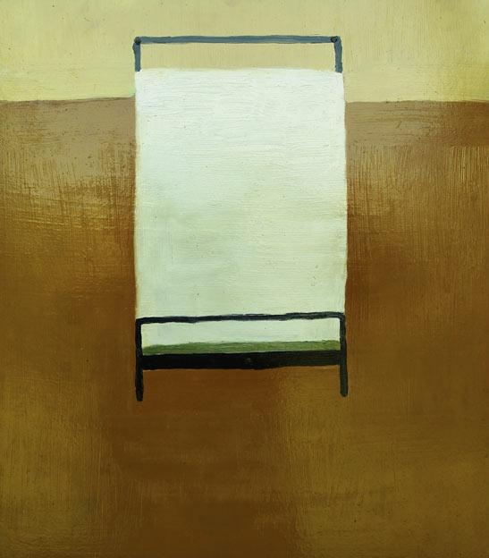 Samotne pomieszczenia, łóżko, 2013