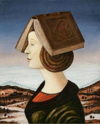 Dama z książką, 2019