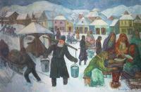 Zimowy dzień, 1994 r.