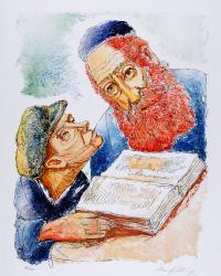 Rabin i uczeń