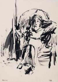 Siedząca, 1937 r.