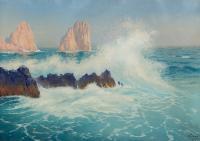 Capri - skały Faraglioni, 1927 r.