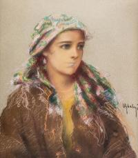 Portret dziewczyny łemkowskiej