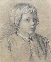 Portret chłopca, 1867 r.