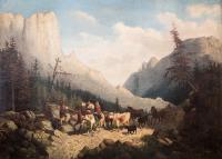 W tatrzańskiej dolinie