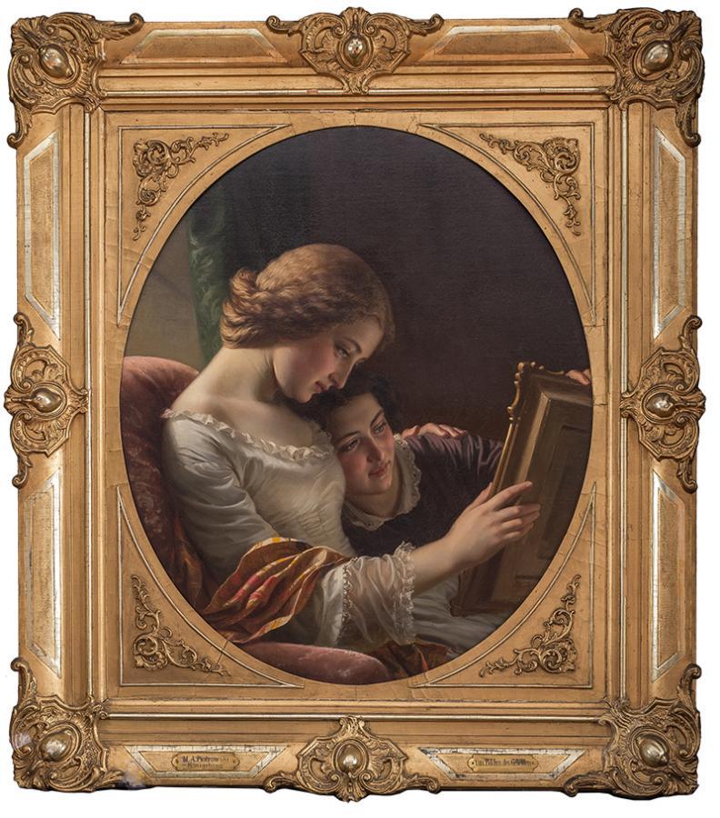 Portret ukochanego, 1857 r.