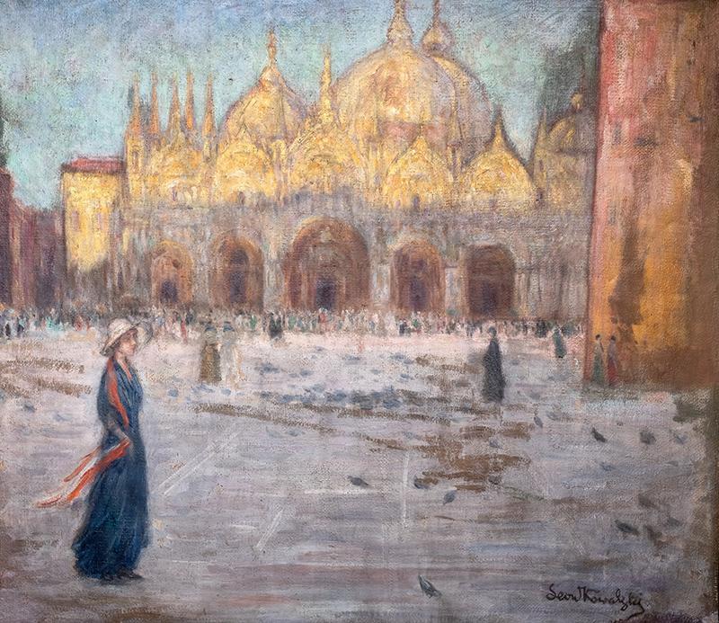 Wenecja – Piazza di San Marco, ok. 1910 r.