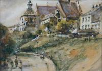 Ulica Podwale i klasztor Dominikanów w Lublinie