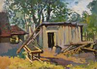 Stara drewutnia, 1975 r.