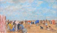 Plaża w Deauville