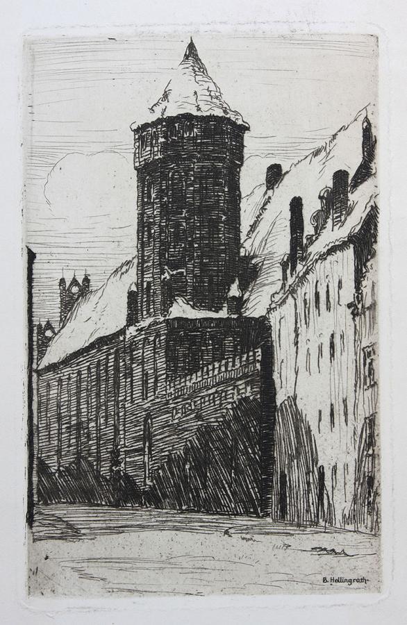 Kościół św. Mikołaja w Gdańsku, 1921-1926