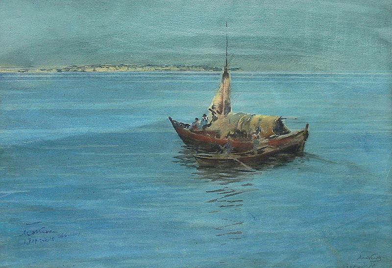 U wybrzeży Stambułu, 1914 r.