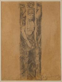 Szkic do witraża, 1899 r.