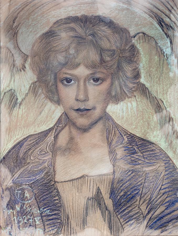 Portret Zofii Małeckiej, V 1927 r.