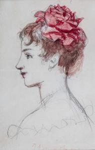 Portret córki artysty, Anieli, l. 1897–1898