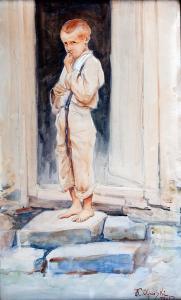 Portret chłopca, 1925 r.