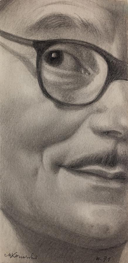 Autoportret, 1971 r.