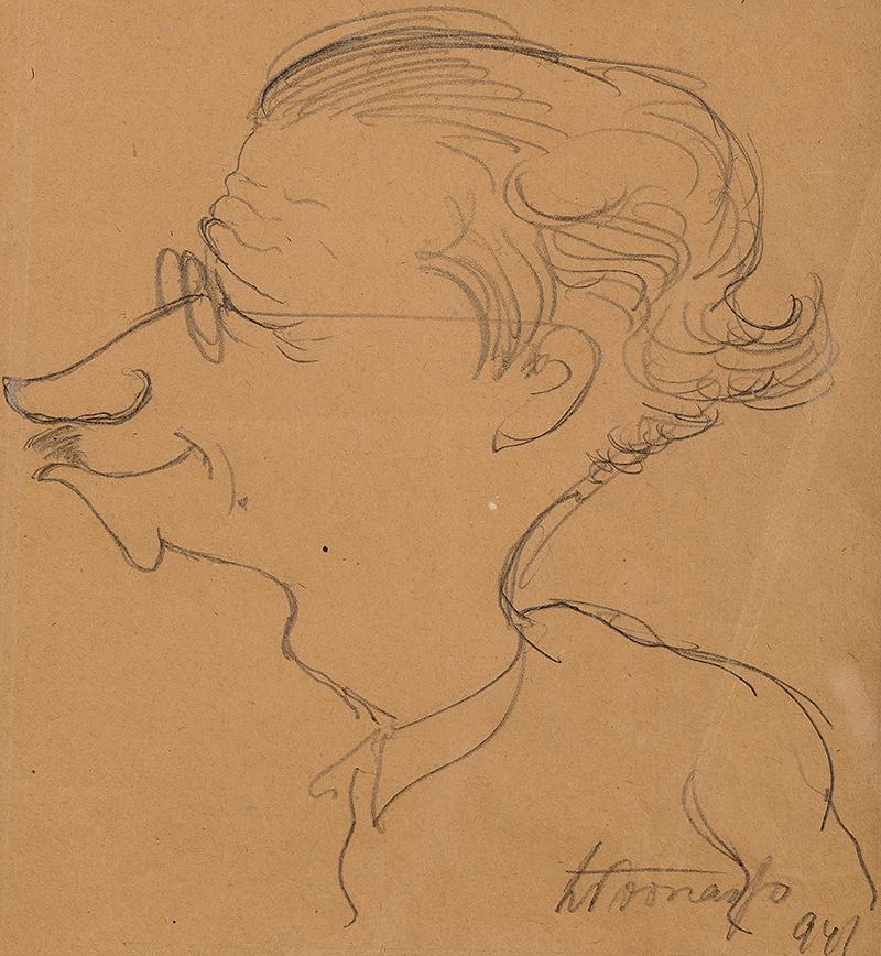 Portret mężczyzny, 1941 r.