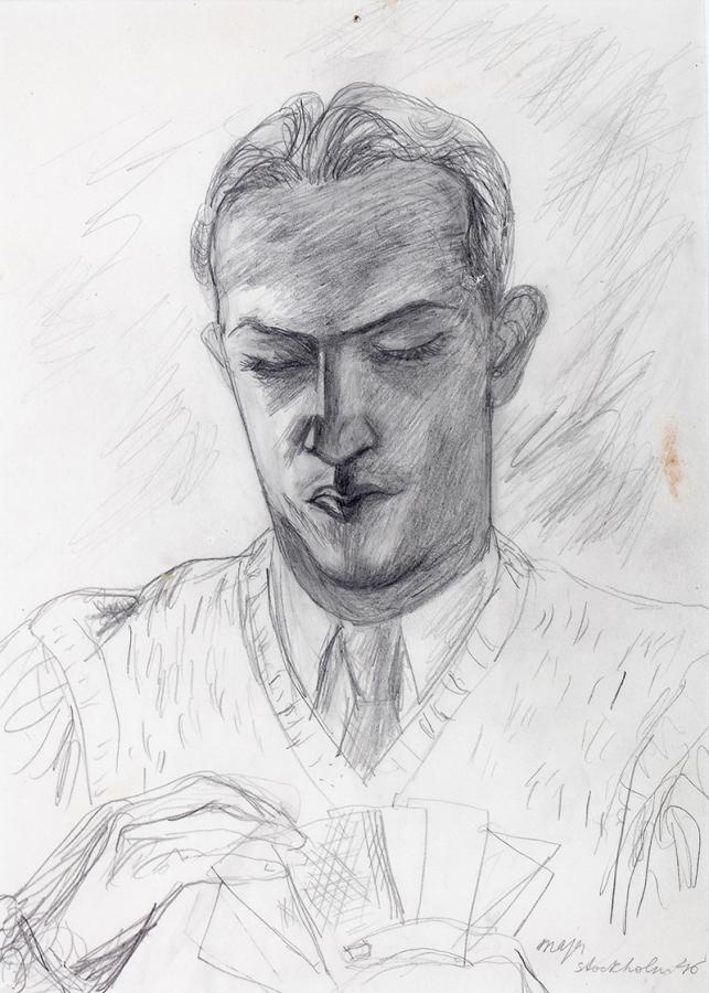 Portret mężczyzny, 1946 r.