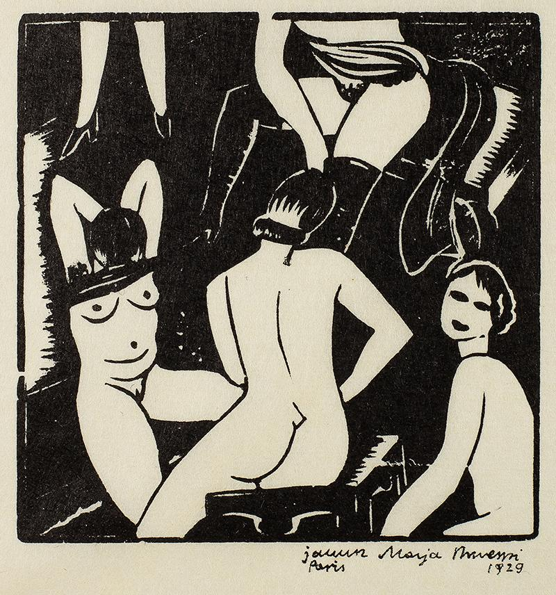 La bourdele, 1929 r.