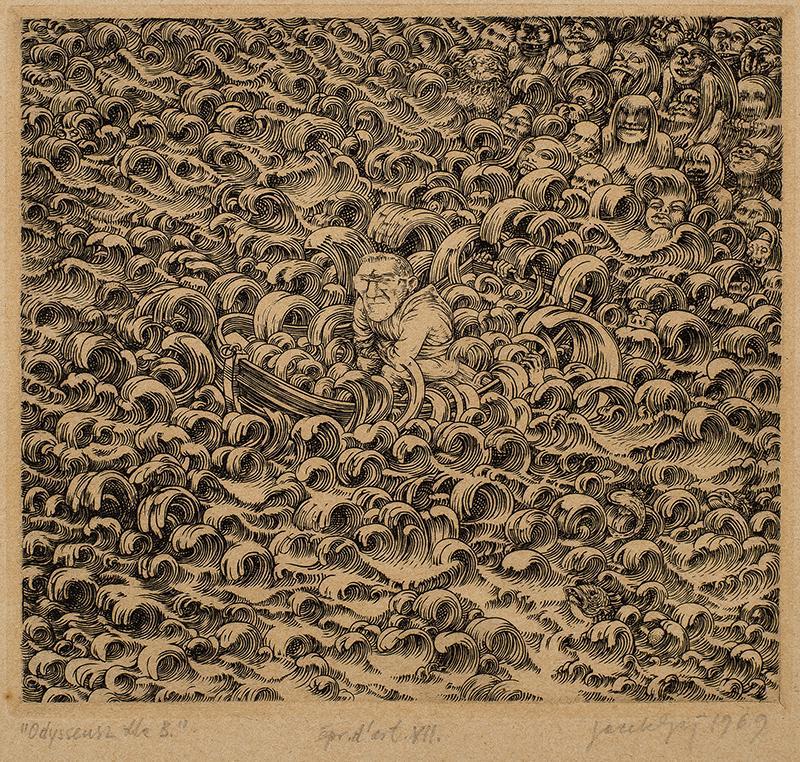 Odyseusz dla B, 1969 r.
