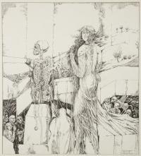 Dziewczyna i śmierć, 1985 r.