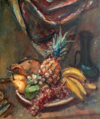Martwa natura z owocami, przed 1939 r.