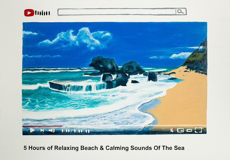 5 Hours of Relaxing Beach & Calming Sounds Of the Sea