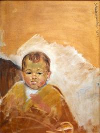 Portret Zosi Malczewskiej, 1922 r.