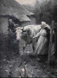 Scena rodzajowa, 1896 r.