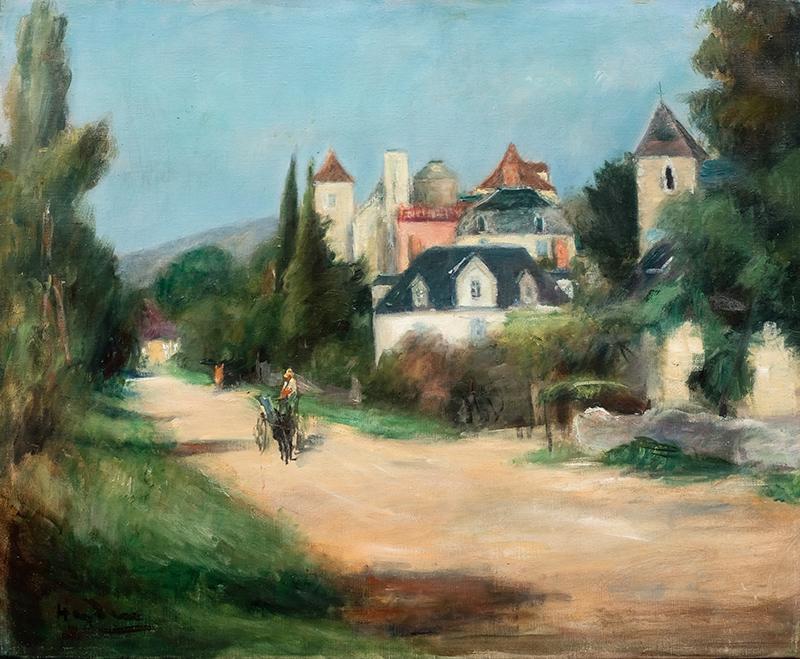 Pejzaż Meyronne, ok. 1929–1931