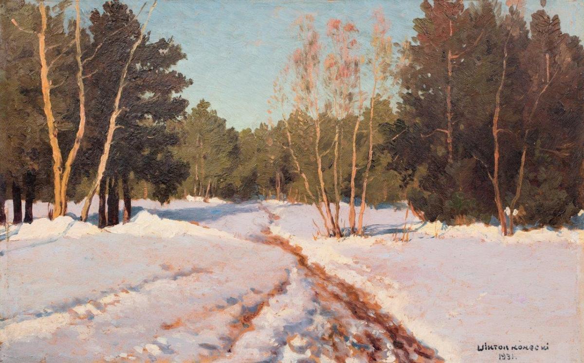 Pejzaż zimowy, 1931 r.