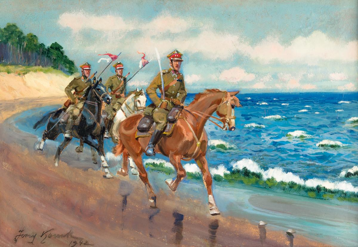 Ułani, 1942 r.