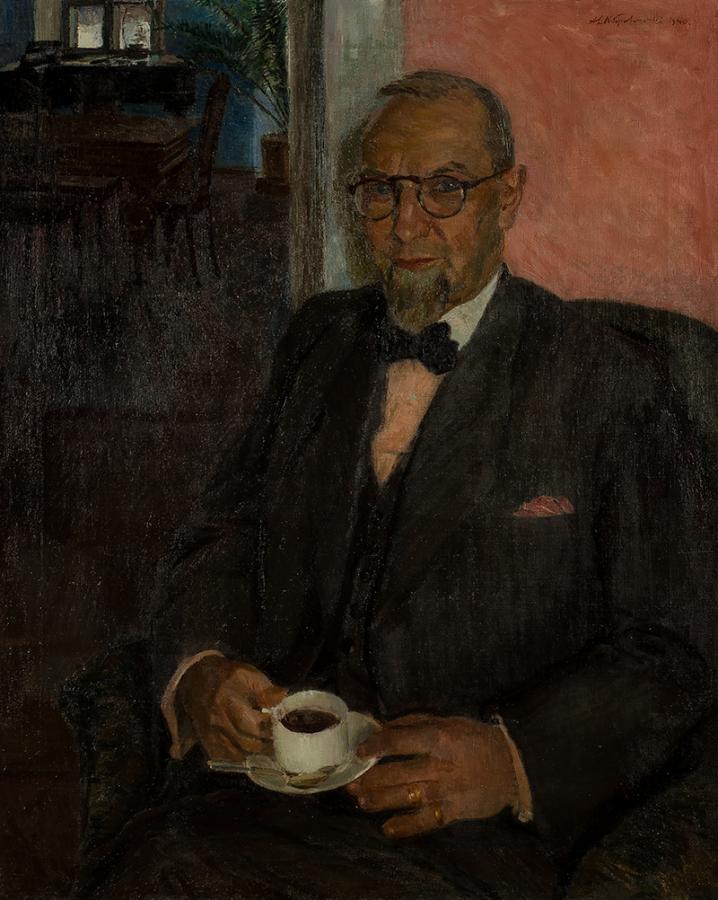Portret Władysława Szabrańskiego z Bełchatowa (1880-1943) , 1940 r.