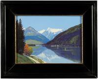 Pejzaż alpejski, 1925 r.