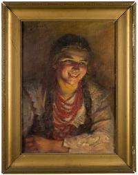 Śmiejęca się góralka-Ludwina, 1934 r.
