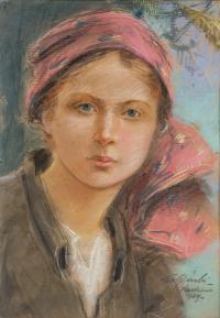 Portret dziewczyny, 1939 r.