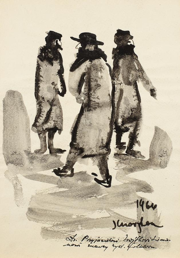 Trzej Żydzi, 1966 r.