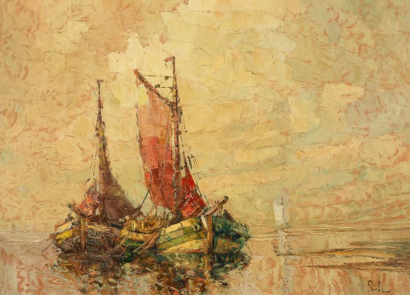 Dwie łodzie