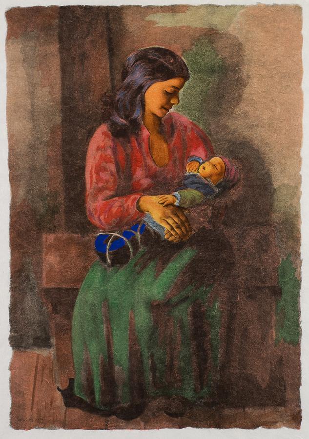 Macierzyństwo, 1952 r.