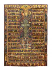 Wielka ikona roku liturgicznego Menologion
