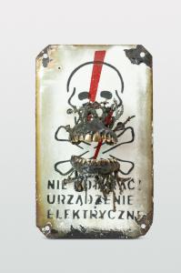 Nie dotykać urządzenie elektryczne,