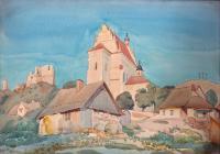 Widok z Kazimierza nad Wisłą