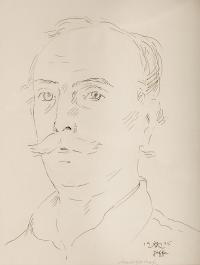Autoportret, 1945 r.