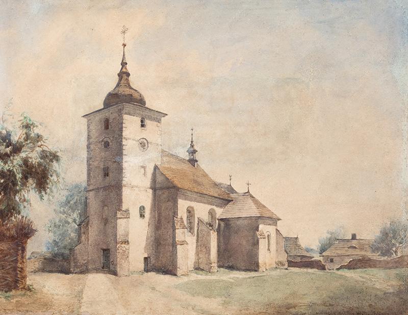 Kościół w Skawinie, 1867 r.