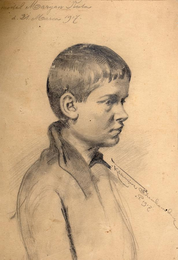 Chłopiec, 1917 r.