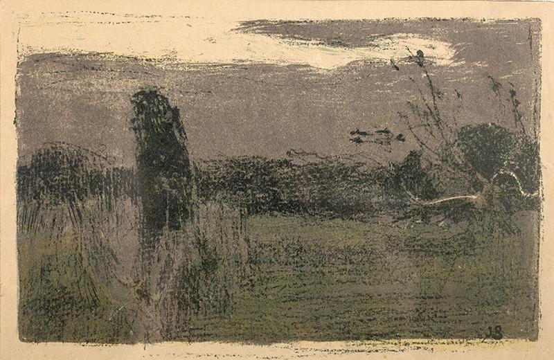 Sad ukraiński (Krajobraz o zmroku), 1904 r.