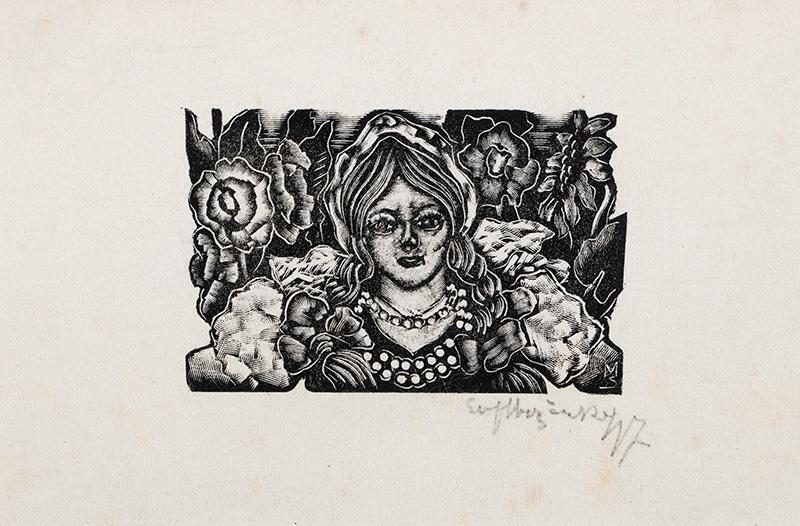 Dziewczyna, 1947 r.