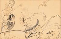 Wyznanie miłości Muleja Chekke księżniczce Feniksanie, 1922 r.